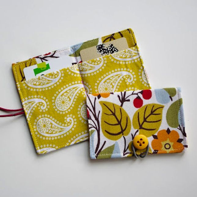 70 Easy Sewing Projects You Should Try Diy Wallet Pattern Easy Sewing Easy Sewing Projects