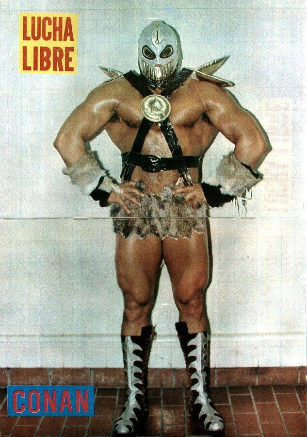 Konan Aka Konnan Aka Conan Luchador Lucha Libre Mexican