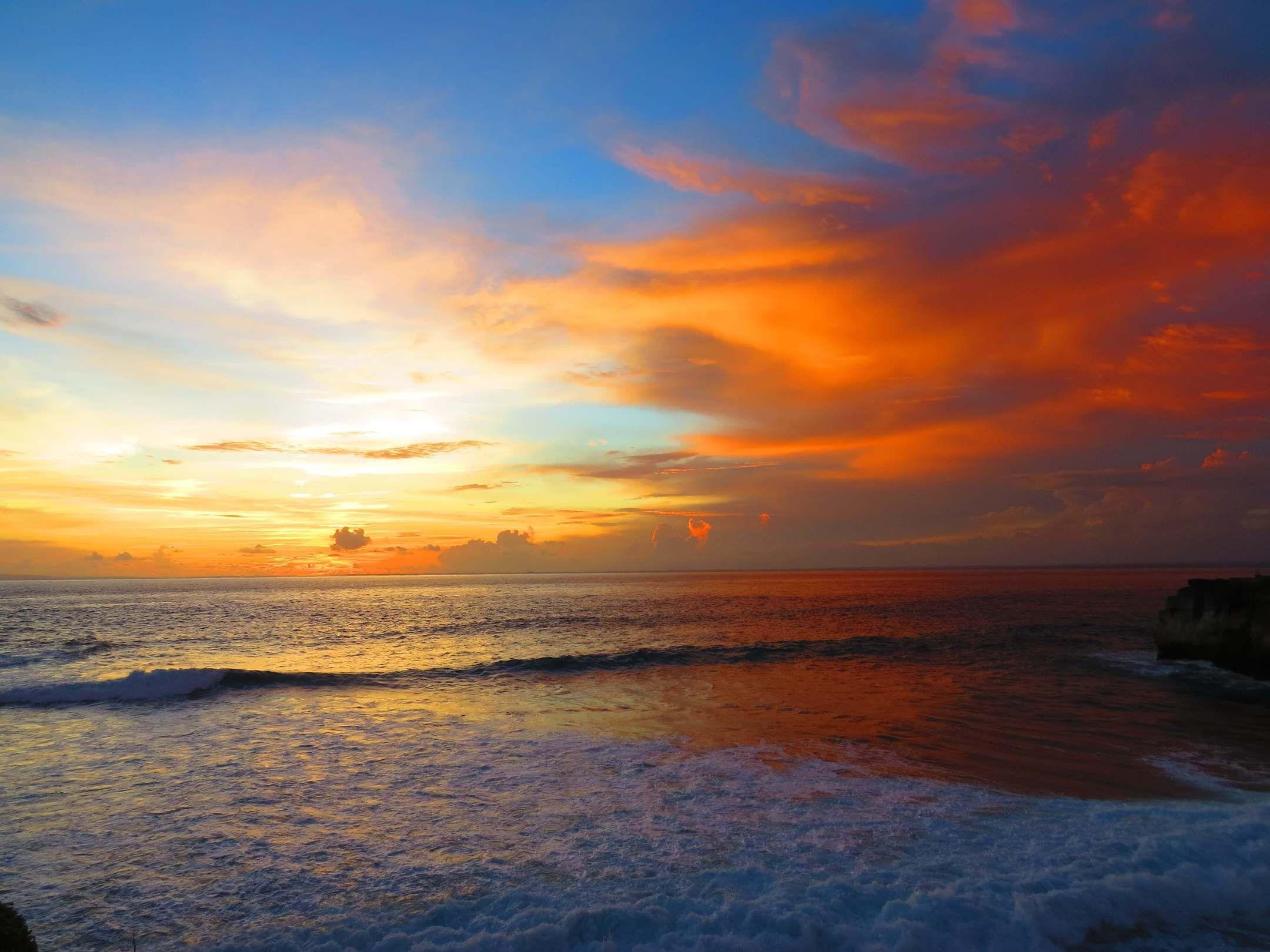 Sunset In Nusa Lembongan