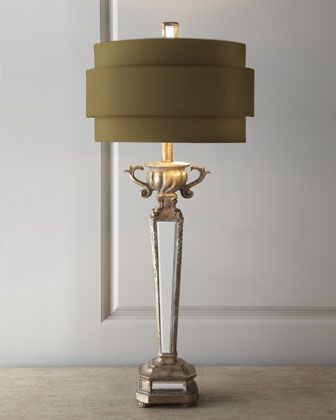 Mirrored Table Lamp at Horchow. Master?