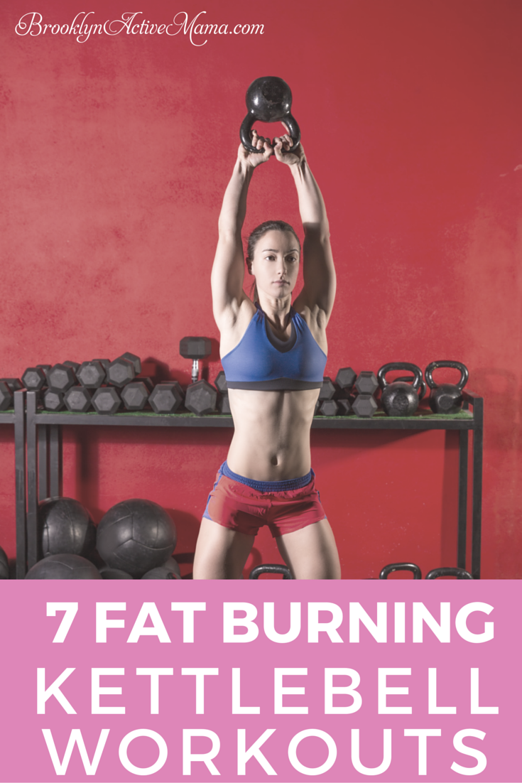 7 Fat Burning Kettlebell Workouts is part of Kettlebell training - Kettlebells are amazing for both strength training and cardio! Check out these 7 effective fat burning kettlebell workouts!