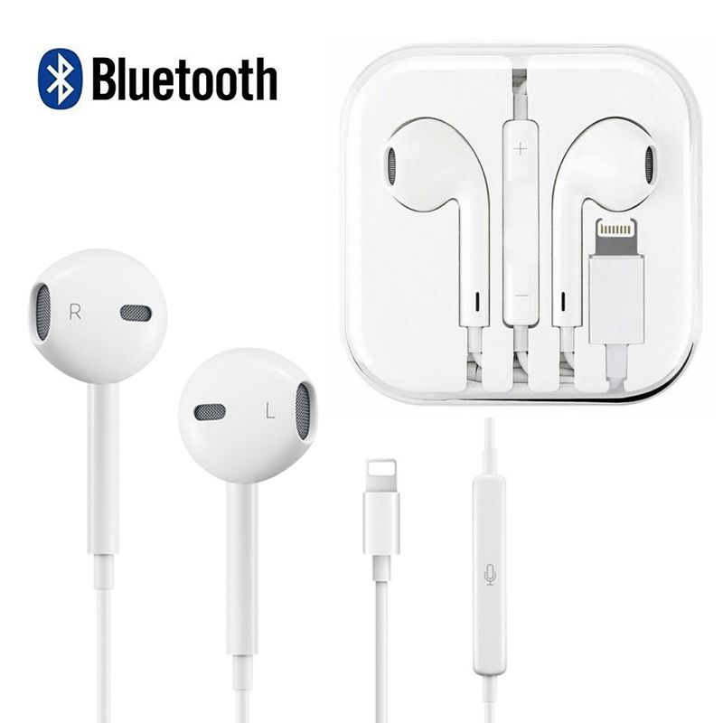 Magicfly Earphones Bluetooth Wired Earbuds Headphones Headset For Iphone 7 8 Plus X Xs Max Xr Walmart Com Earbuds Headphones Bluetooth Earphones