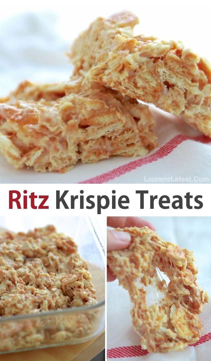 8 verrückte, coole Leckereien mit Ritz-Crackern (schnelle und einfache Snacks!)  - Dessert Recipes -
