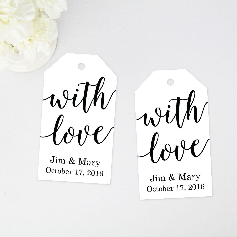 with love favor tag | Deko | Pinterest | Favours, Wedding favor tags ...