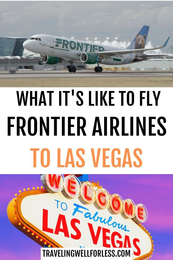 Review Gambling On Frontier Airlines To Las Vegas Las Vegas
