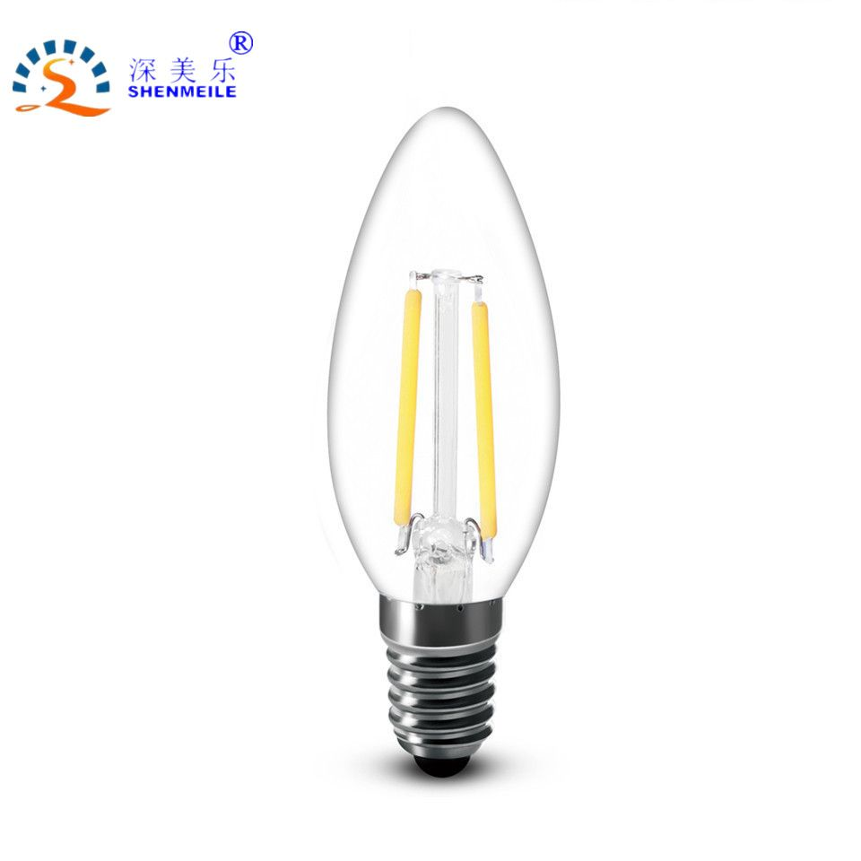 Rxr 4w 110v usa canada brazil e12 warm white clear c35 b10 clear led rxr 2 led candle non dimmable warm white clear clear led filament candle bulb lamp light vintage chandelier arubaitofo Image collections