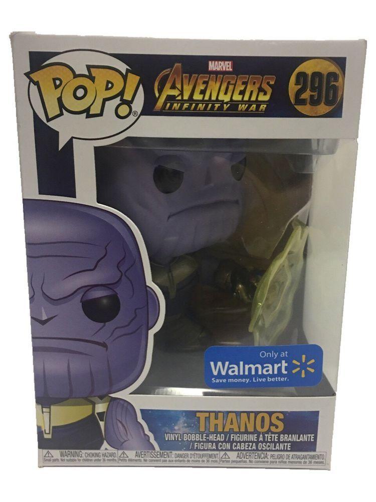 Funko Pop THANOS 296 Marvel Avengers Infinity War WALMART EXCLUSIVE