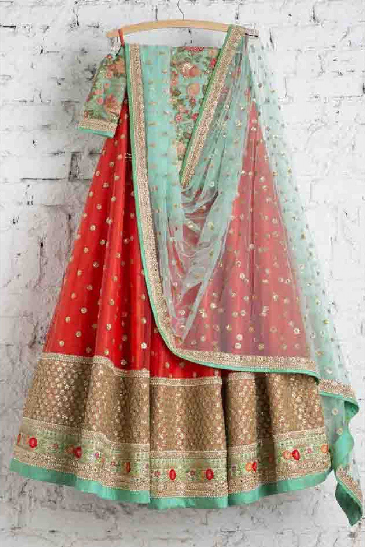 Embroidery Lehenga Choli In Red Colour Buy Net Embroidery Lehenga Choli In Red Colour for women @ . Worldwide Free Shipping Available!