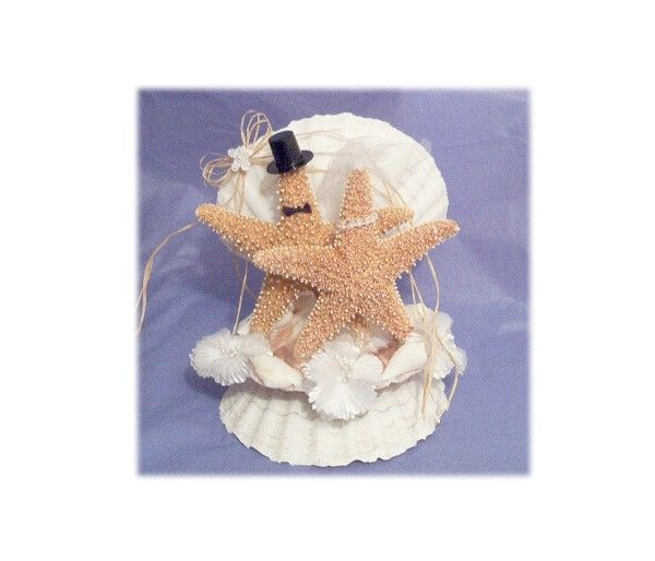 Beach Wedding Cake Topper Starfish Toppers Seashell Accessories