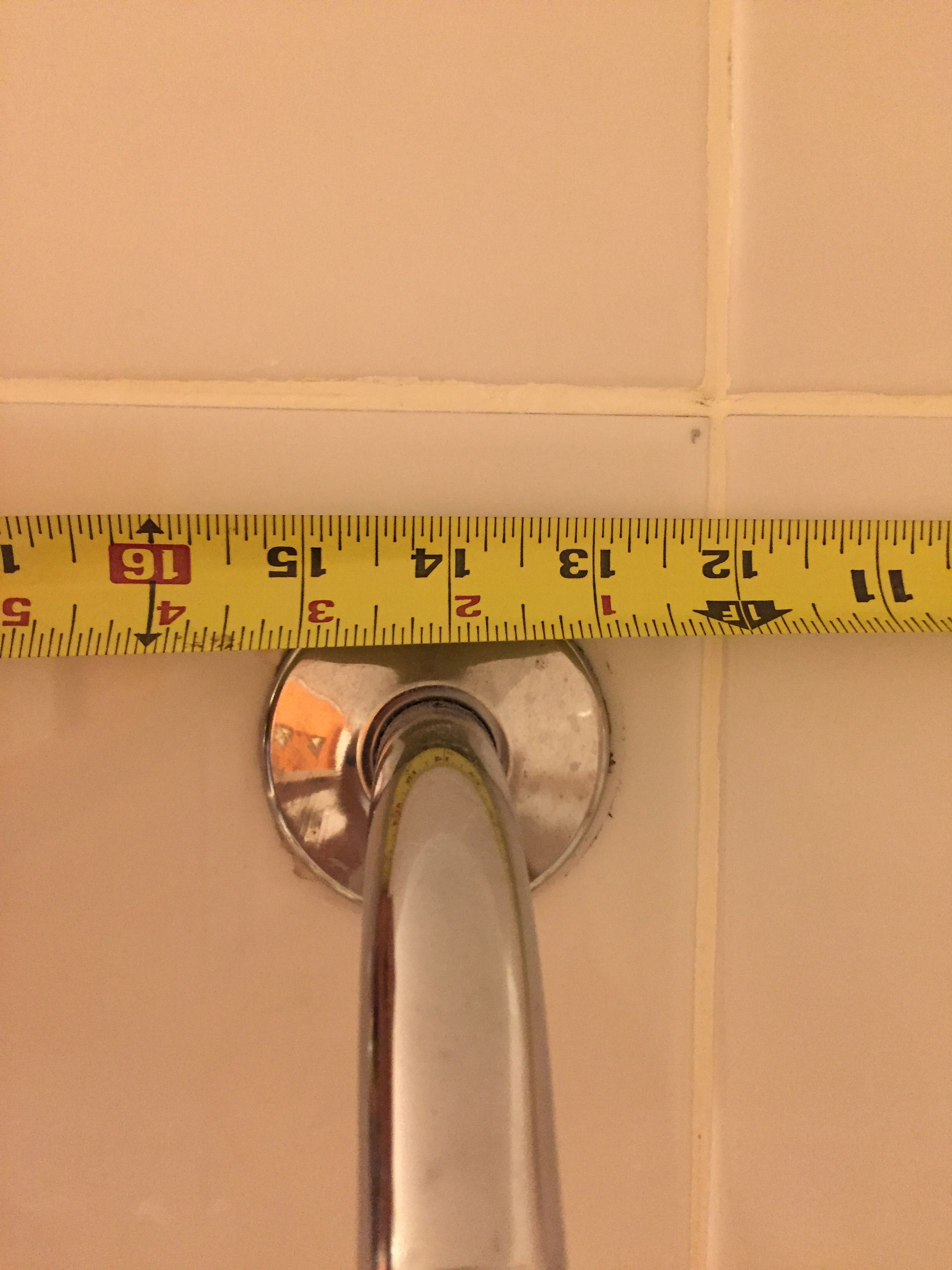 14.2 inch from tile