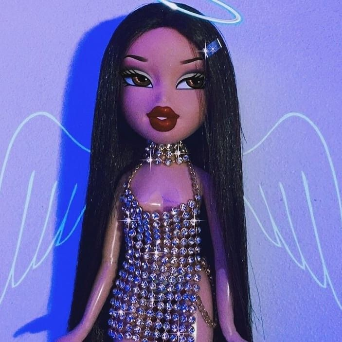 By Fendipap Bratz Doll Makeup Black Bratz Doll Bratz Girls