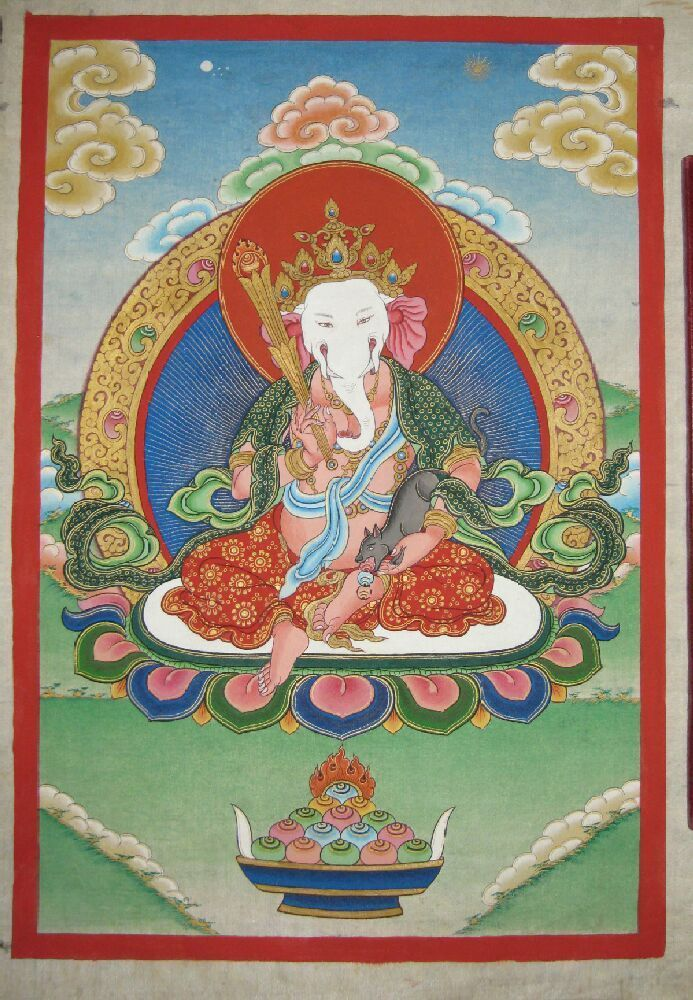 Винаяка. Плод превращенья Махавайрочаны   Буддийское искусство, Тибетское  искусство, Тибетский буддизм