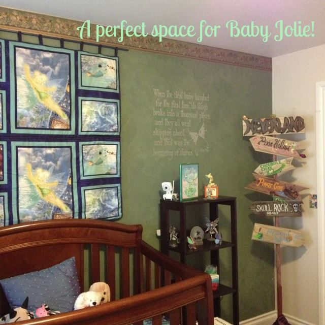Mission Accomplished Baby Girl S Peter Pan Neverland Nursery Is Complete Neverland Nursery
