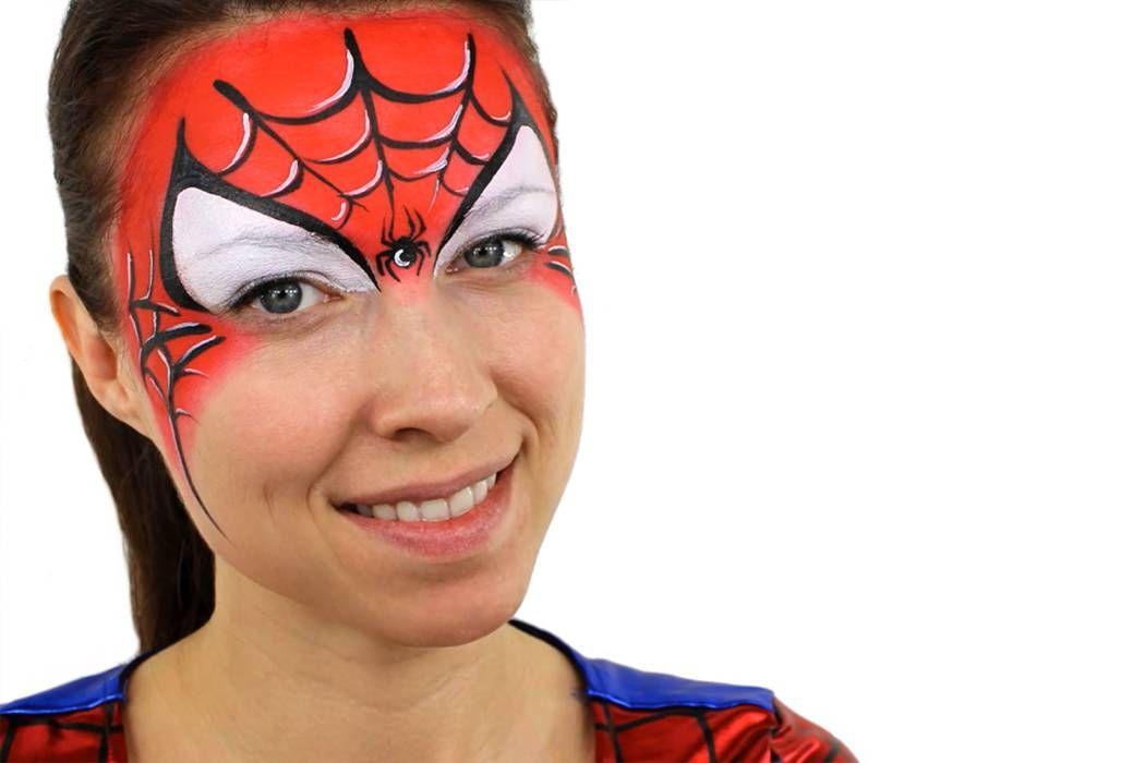 spider man face paint ideas facepainting pinterest. Black Bedroom Furniture Sets. Home Design Ideas