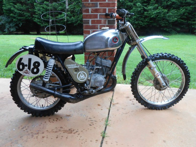 Hodaka : COMBAT WOMBAT   125 in Hodaka | eBay Motorcycles