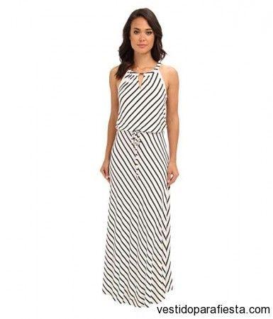 426ecf2729 Maxi vestidos rayados de moda casual 2014 – 23