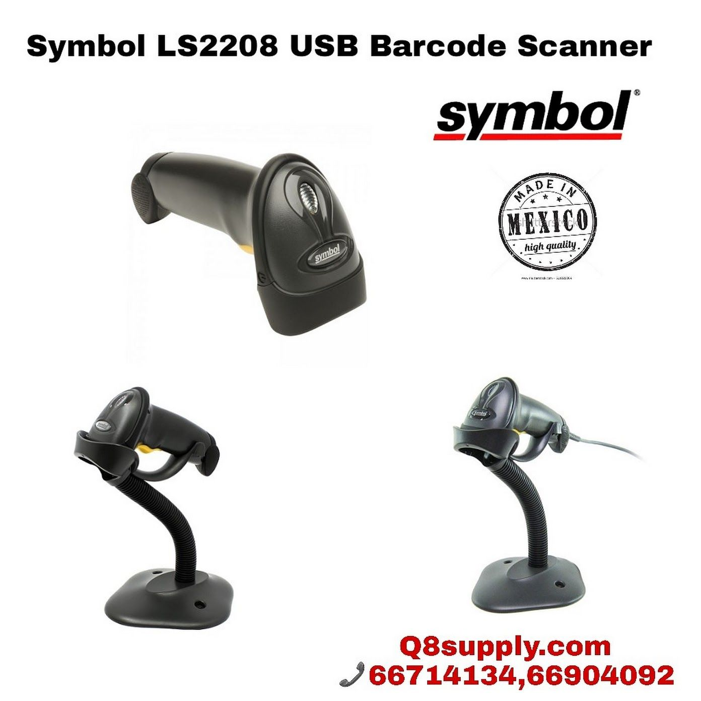 Symbol Ls2208 Usb Barcode Scanner It Provides Fast Reliable