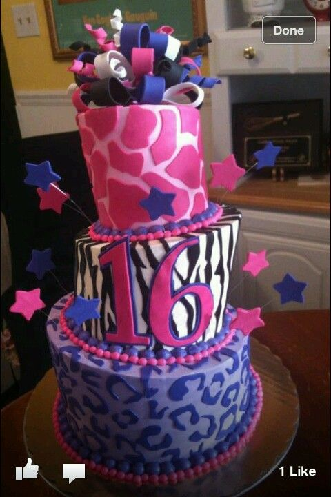 my sixteenth birthday cake so freaking cute pinterest