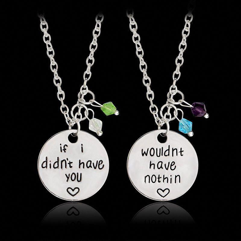 1c36f8a6bd722e 2pc Couple Matching Necklace Set Pair Jewelry Love Charm Friendship Best  Friends #Unbranded #Charm #bestfriendjewelry