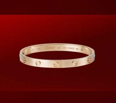 d4be7eb50fa24 Cartier 1:1 Grade Love bracelet rose gold+Original Bracelet box $ 129.99