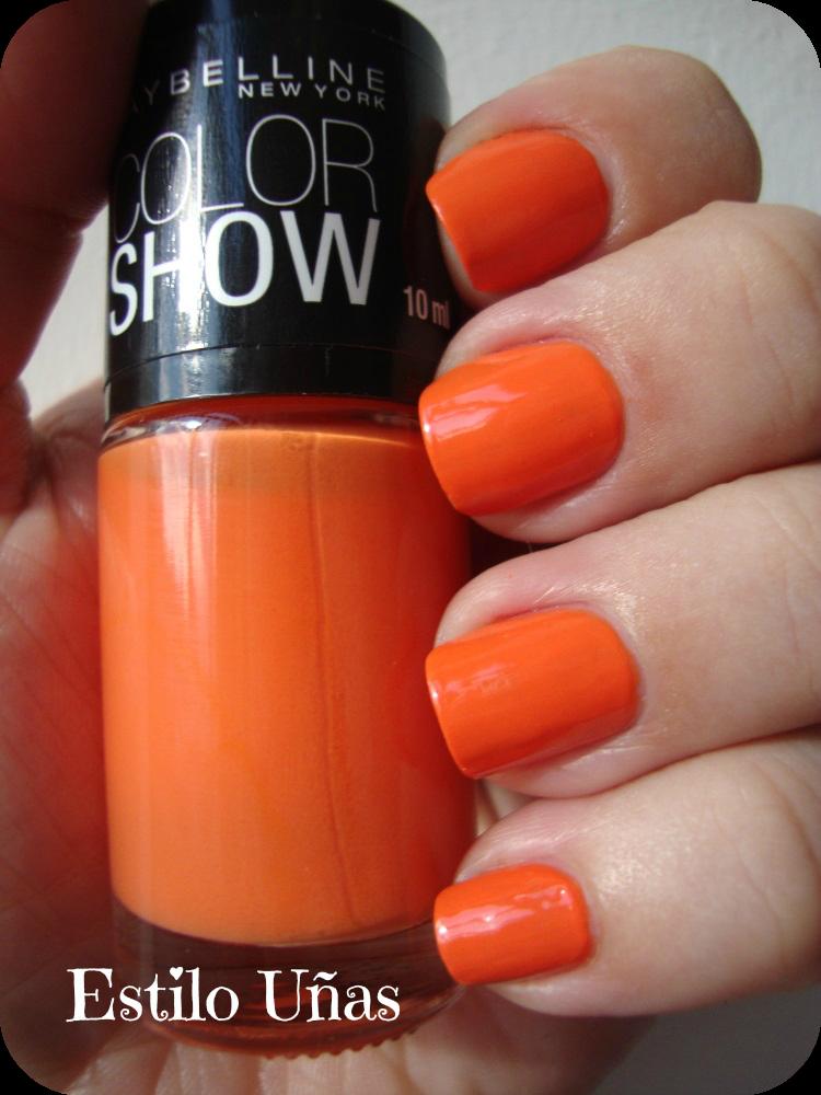 Estilo Uñas: Color Show - Sweet Clementine | Mis uñas ♥ | Pinterest