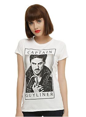 Upon 2019Clothes Shirt Once Captain A Girls T Time Guyliner In 7IYbyfv6gm