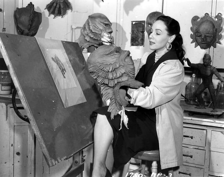 Disney animator Millicent Patrick's work as sole designer of the Creature From the Black Lagoon was downplayed by a male coworker who then received credit for it for half a century.