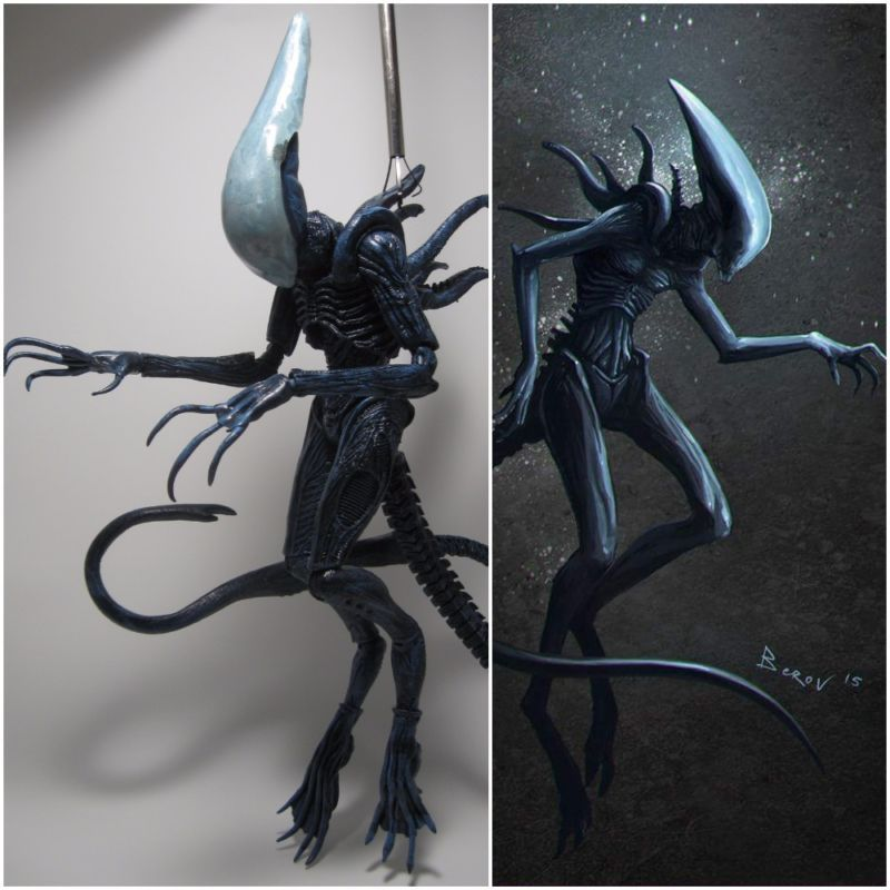 Mature Deacon Concept Figure-(Prometheus) (Aliens) Custom