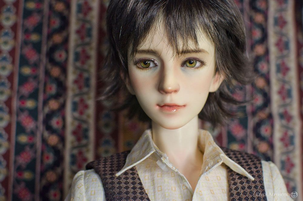 Not an art doll but a face up and costume. The Fairfax Children by Katyok on DeviantArt