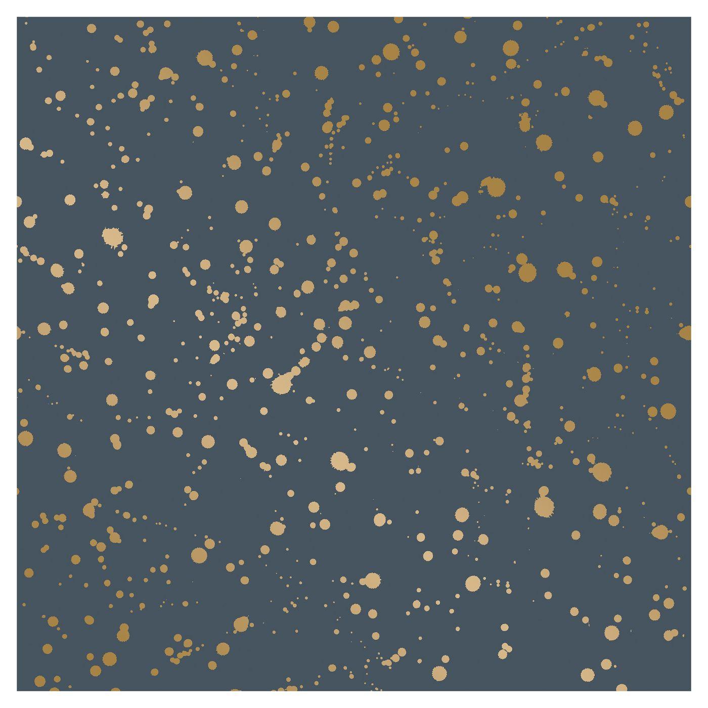 Celestial Peel and Stick Wallpaper Navy/Gold Opalhouse