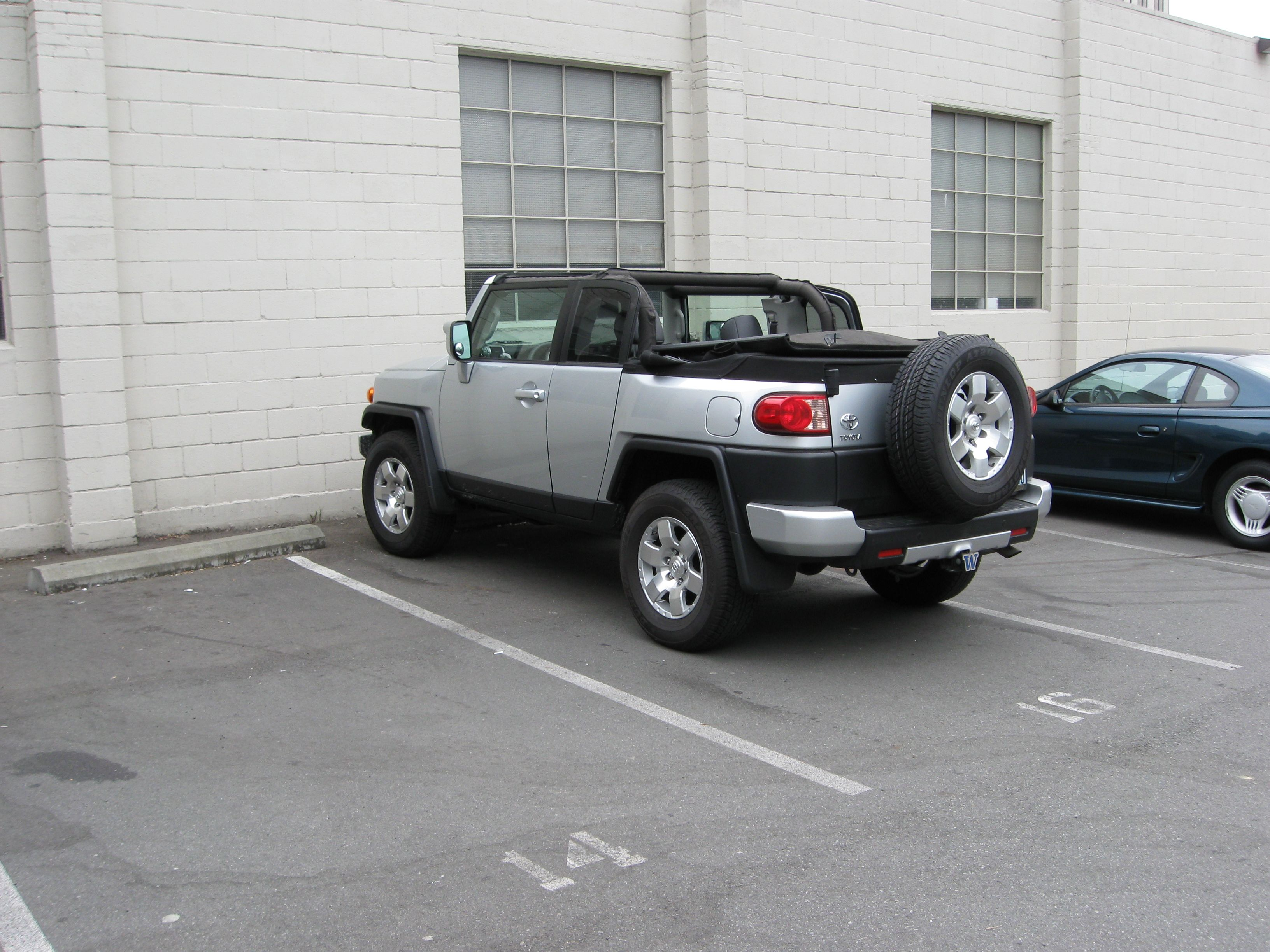 Fj Cruiser Convertible Conversion Very Nice Fj Cruiser Toyota