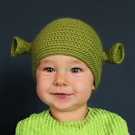 @deb rouse schwedhelm Schmidt if you feel like making something for Vann. that he will LOVE within the next year....(I am estimating, as we both know the length of loves of  3 year olds are intangible) He LOVES Shrek!!!