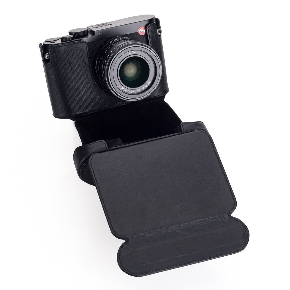 leather Ever ready case Leica Q black