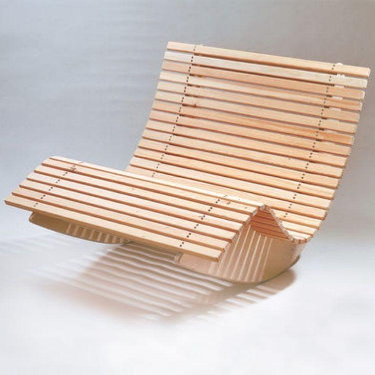 Relaxliege Holz Bauanleitung – Europeaid | Relax & Sauna