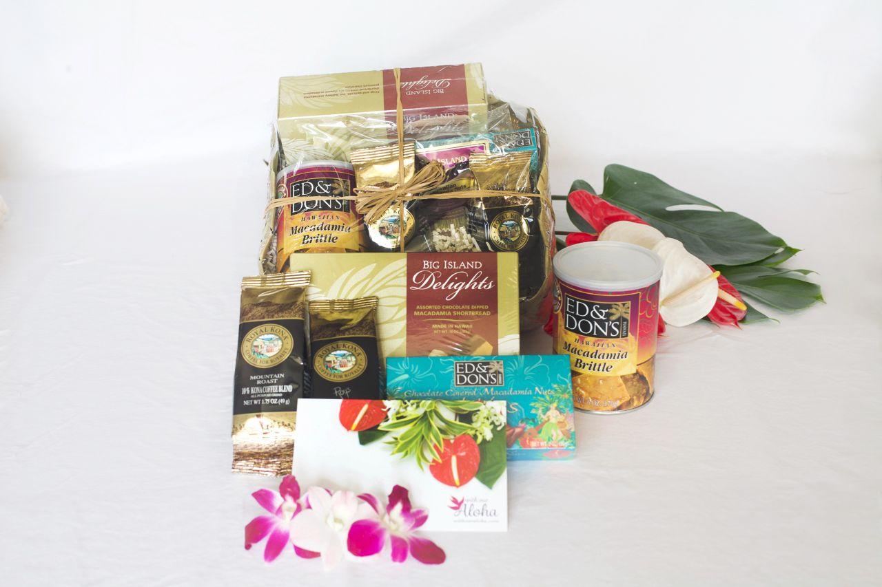 Aloha Hawaiian Gift Basket