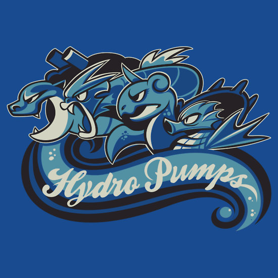 Water types for life!