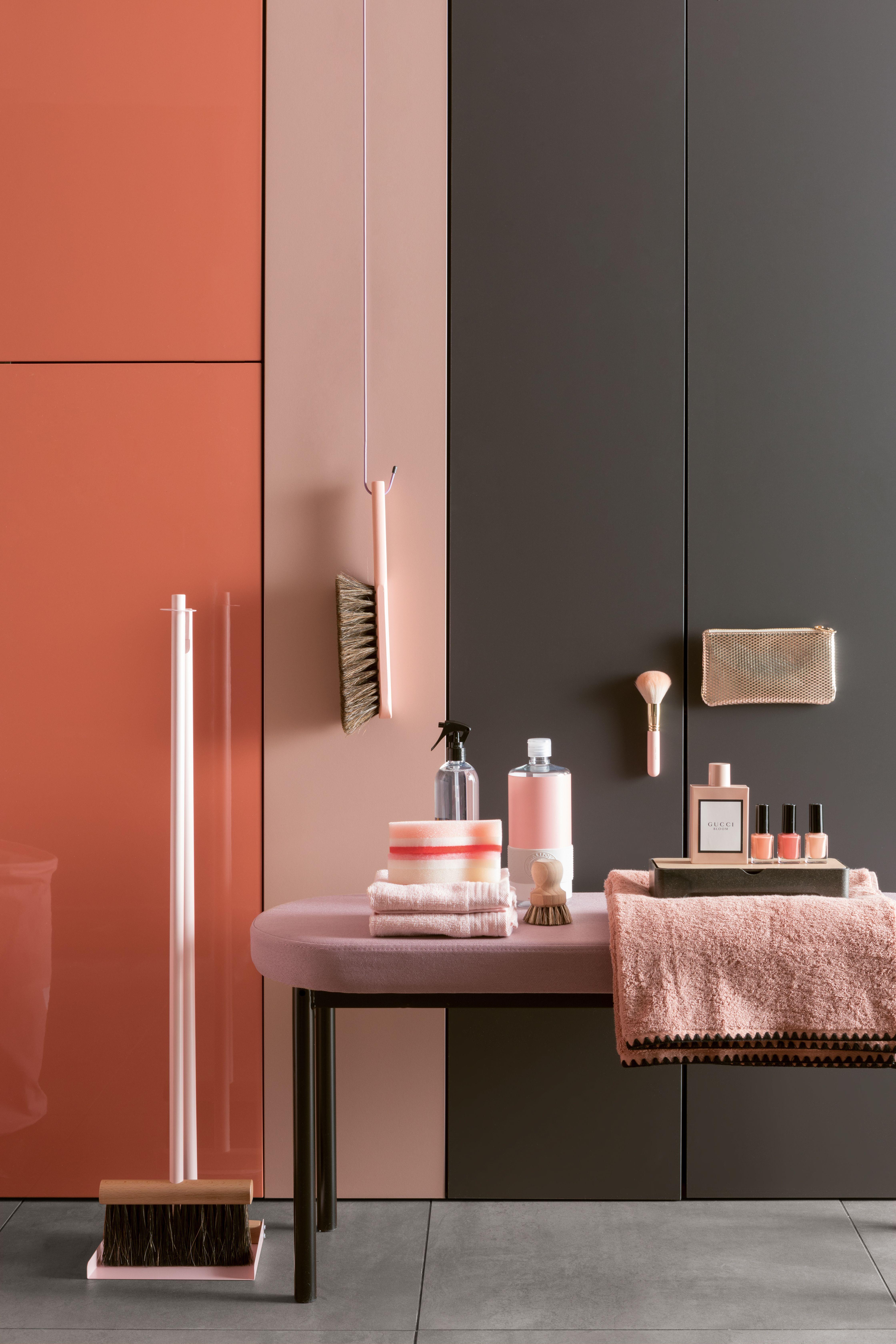 Ambiance Velours | Chambre orange et gris, Salle de bain corail et Salles de bains oranges