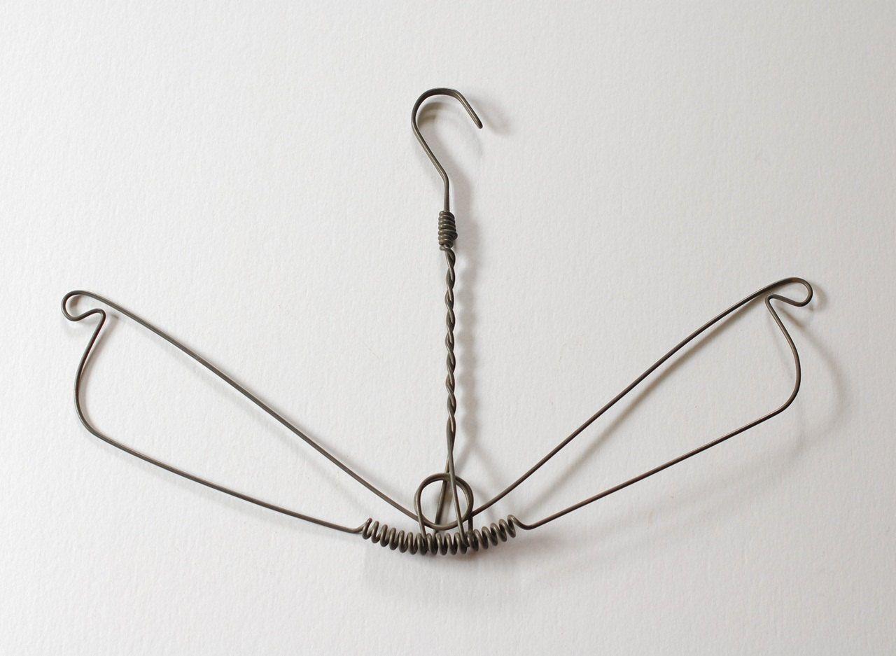 Early Antique Wire Hanger - Rare Primitive \