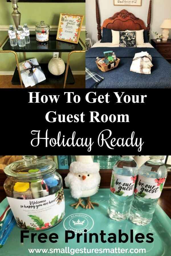 How To Get Your Guest Room Holiday Ready images