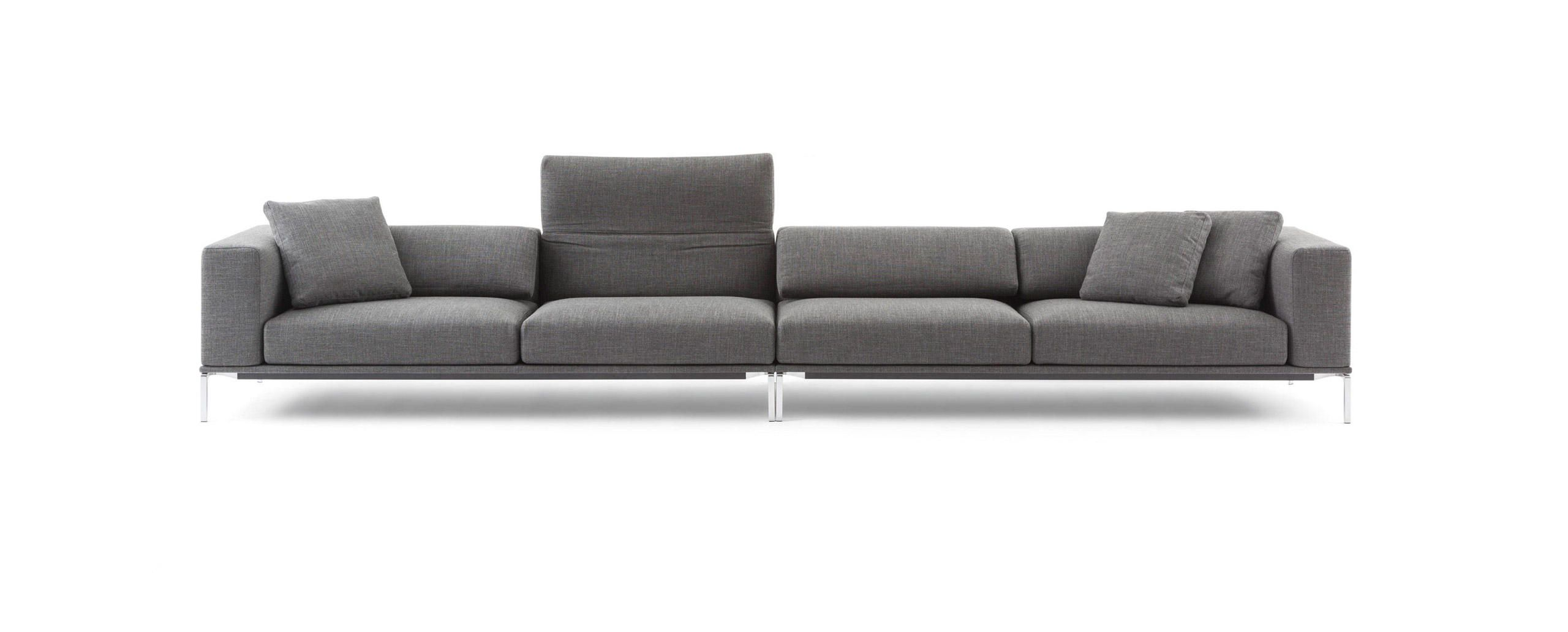 SLIDING SOFA 4 seater sofa Sliding sofa Collection by MDF Italia