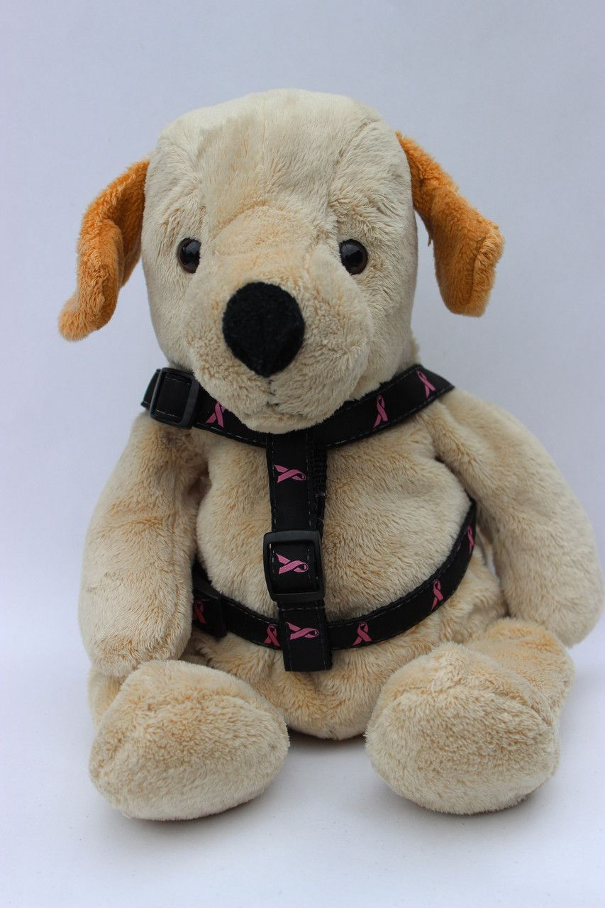 Cancer Awareness Black Dog Harness