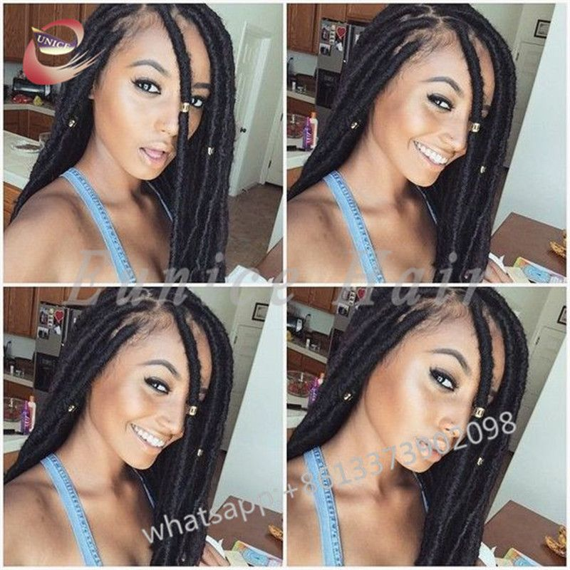 Faux Locs Hairstyles Adorable Curly Crochet Fauxlocs African Hairstyles Extensions24 Strands