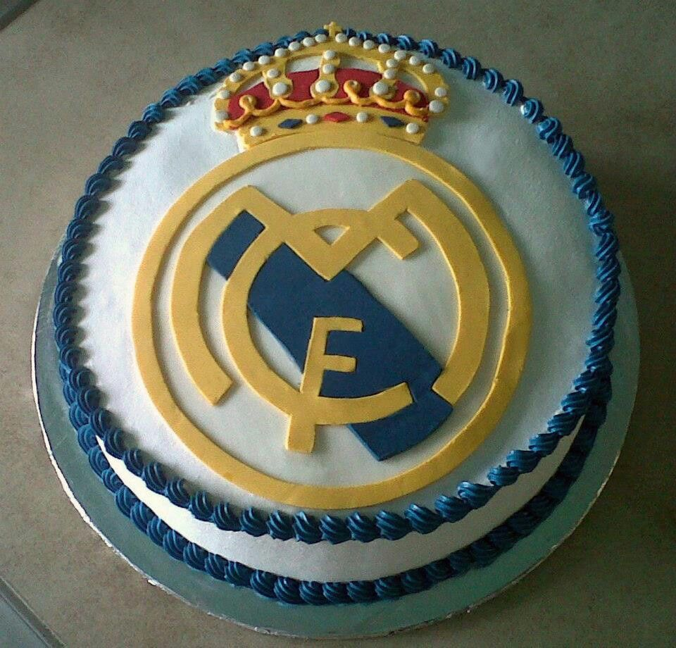 Birthday Cake Images Real : Real Madrid cake Birthday Cakes Pinterest Real ...