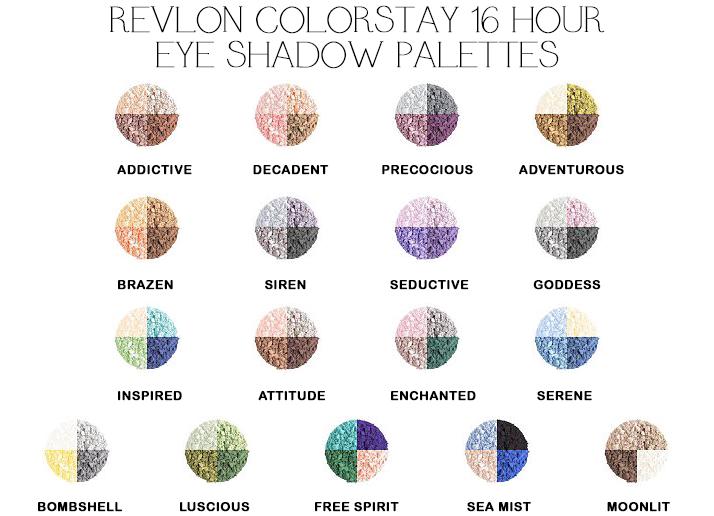 Revlon colorstay 16 hour eye shadow palette adventurous beauty revlon colorstay 16 hour eye shadow palette adventurous ccuart Images