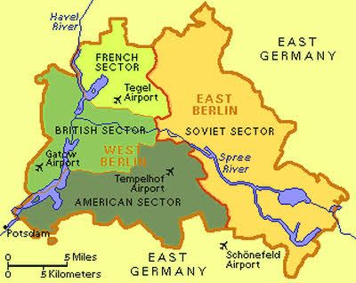 Image Result For Path Of The Berlin Wall Cold War Pinterest - Berlin wall 1961 map