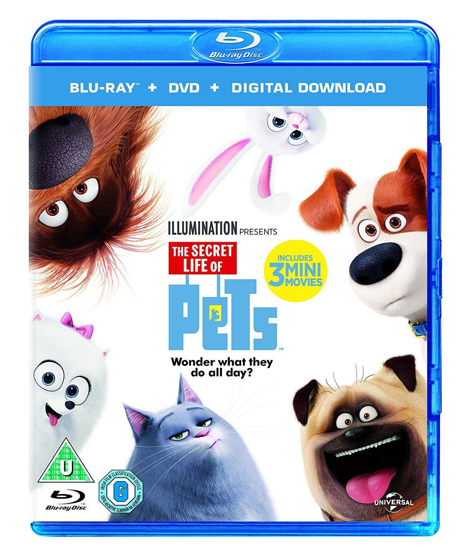 The Secret Life Of Pets Blu Ray Dvd Digital Download 2015 With Images Secret Life Of Pets Pets Road Trip Art