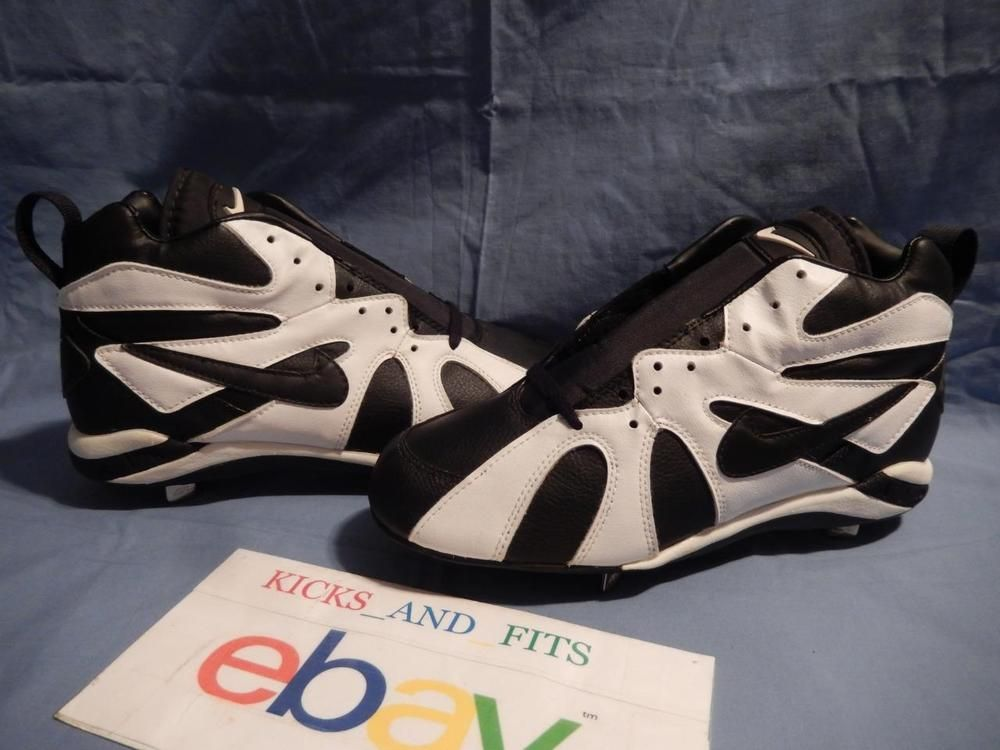 new concept eeec5 b7484 ... VTG DS 1994 Nike Air Diamond Fury Ken Griffey Jr Metal Baseball Cleats  sz 9 OG ...