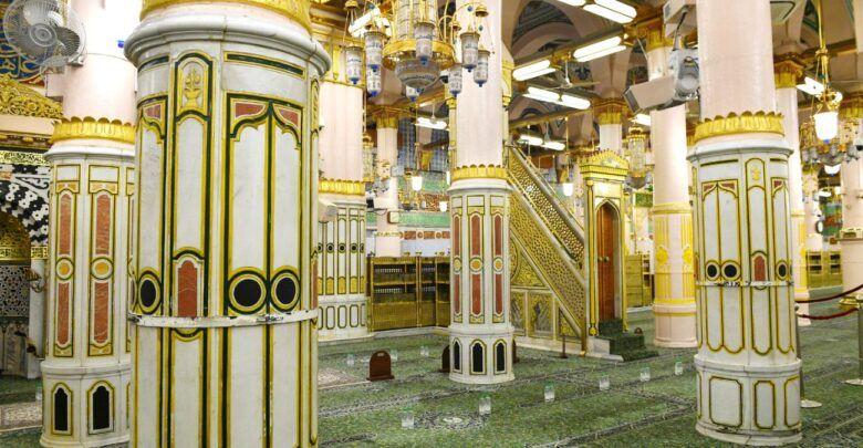 فضل الصلاة في الروضة و آداب زيارة مسجد رسول الله عليه الصلاة و السلام Road Structures Alley
