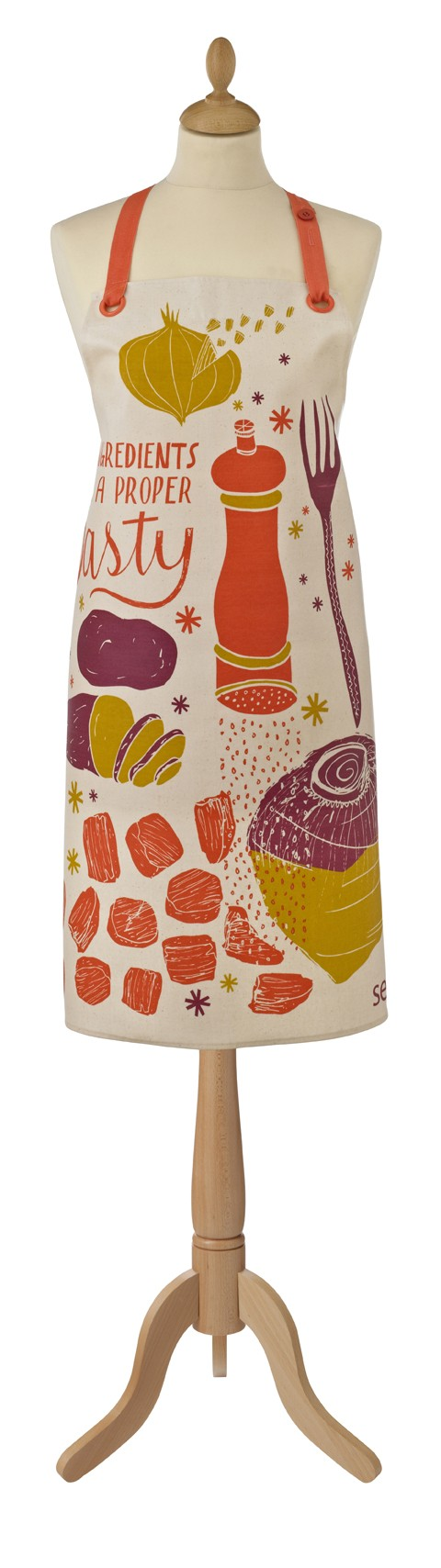 Seasalt Pasty Oil Cloth Apron, Ulster Weavers