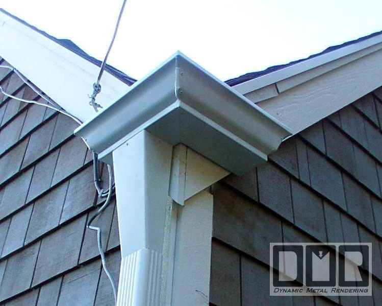 Dmr Gutters Unusual Gutter Fabrication Photopage In 2020 Construction Remodeling Downspout Gutters